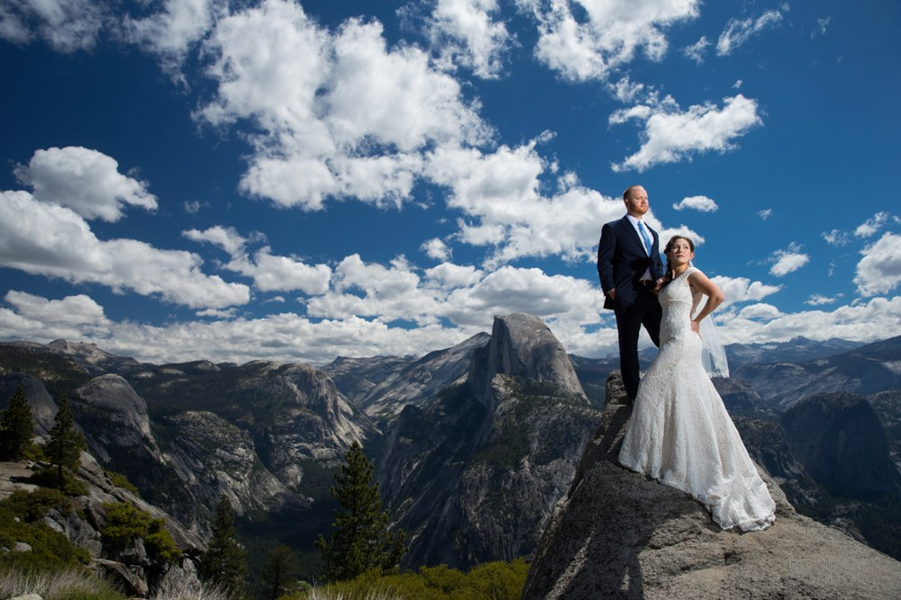 Yosemite small wedding