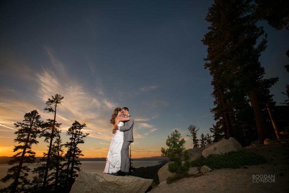 Heavenly Lake Tahoe Wedding   Nicole and Theo   Sacramento ...